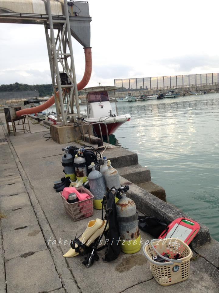 宜野座村、漢那漁港