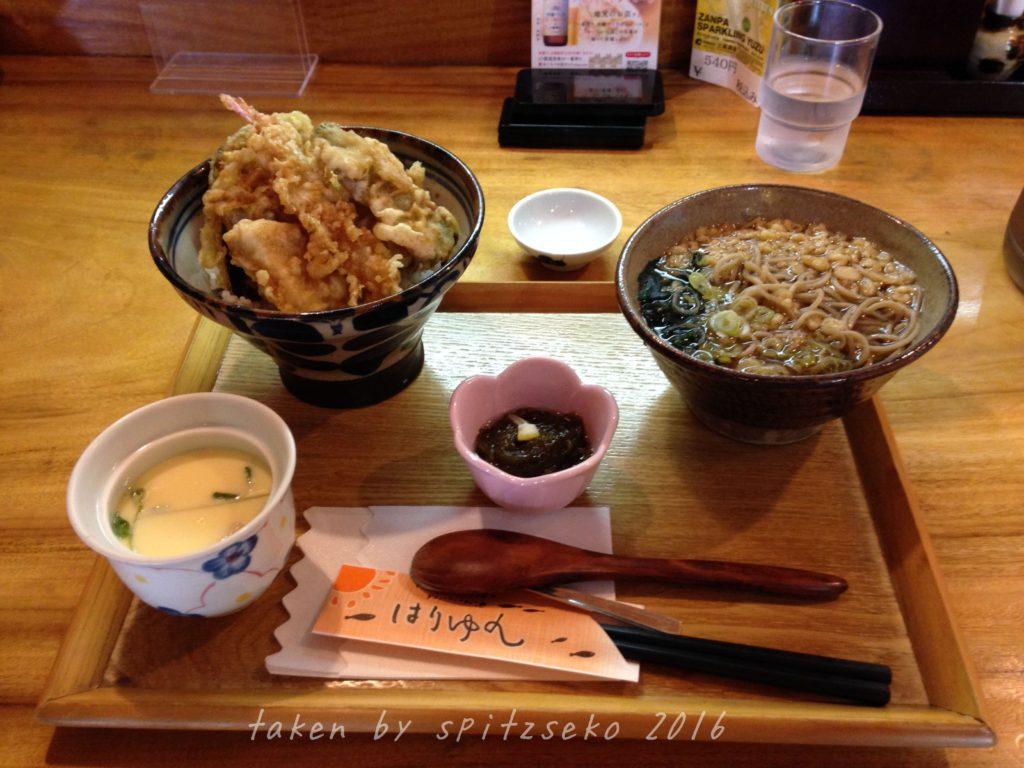 天ぷら定食だったかな