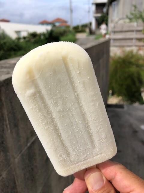 練乳味アイス