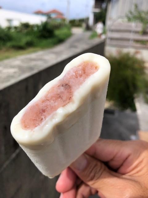 ぜんざい風味のかき氷アイス